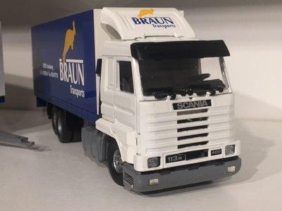Tekno Tekno Scania 113M streamliner combi Braun Strasbourg