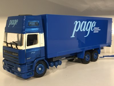 Tekno Tekno DAF 95 topsleeper combi PAGE