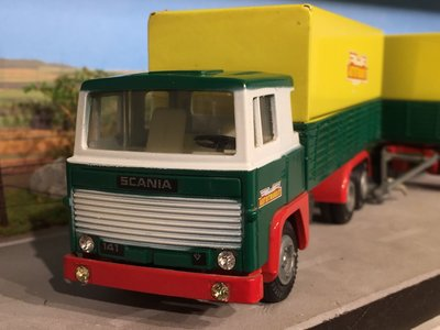 Tekno Tekno Scania LBS 141 6x2 truck with  AutoTransit Sweden