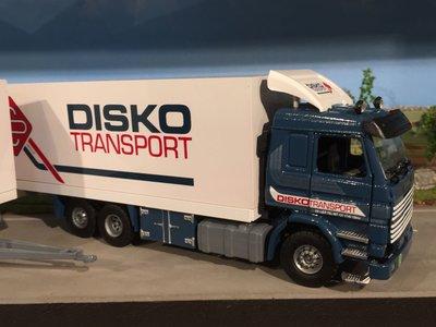Tekno Tekno Scania 143M wipkarcombi Disko transport