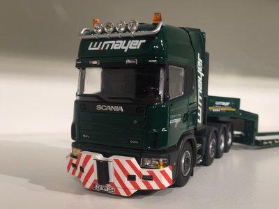 IMC IMC Scania R164 topline 8x4 with goldhofer 3-axle Mayer