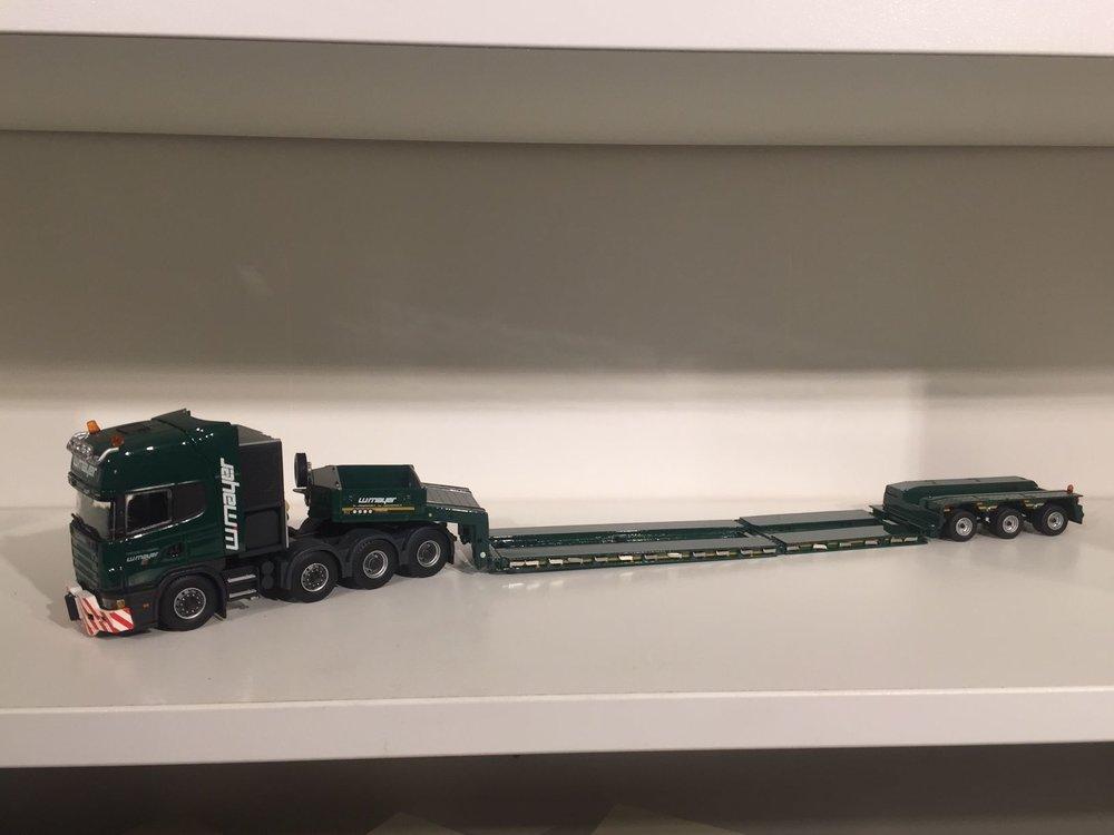 IMC IMC Scania R164 topline 8x4 met goldhofer 3-axle Mayer
