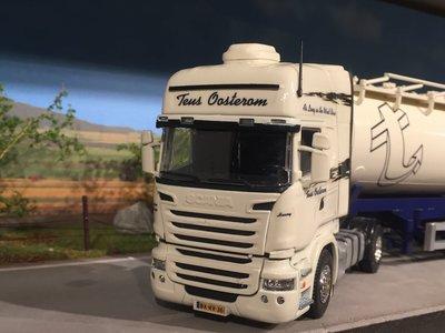 Tekno Tekno/ Code3 Scania R with bulktank semi-trailer Teus Oosterom