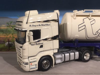 Tekno Tekno/ Code3 Scania R met bulktank oplegger Teus Oosterom