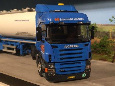Tekno Tekno/ Code3 Scania R420 met bulktank oplegger IMS Veendam
