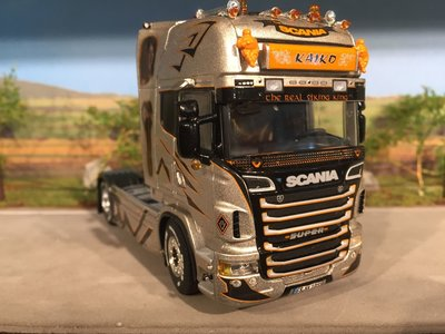 WSI WSI Scania R Topline single truck Kaiko Germany