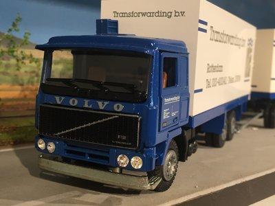 Tekno Tekno Volvo F12 bakwagen combi Transforwarding