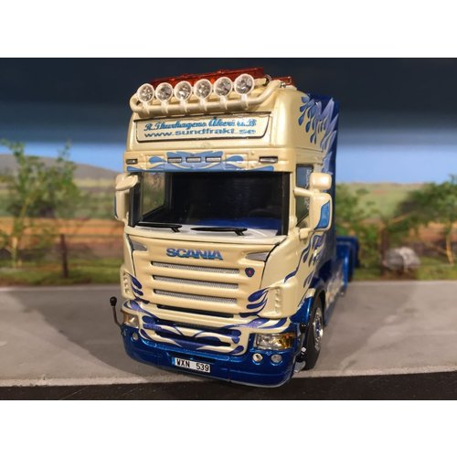 WSI Scania R580 6x2 single truck Thurhagens Sweden