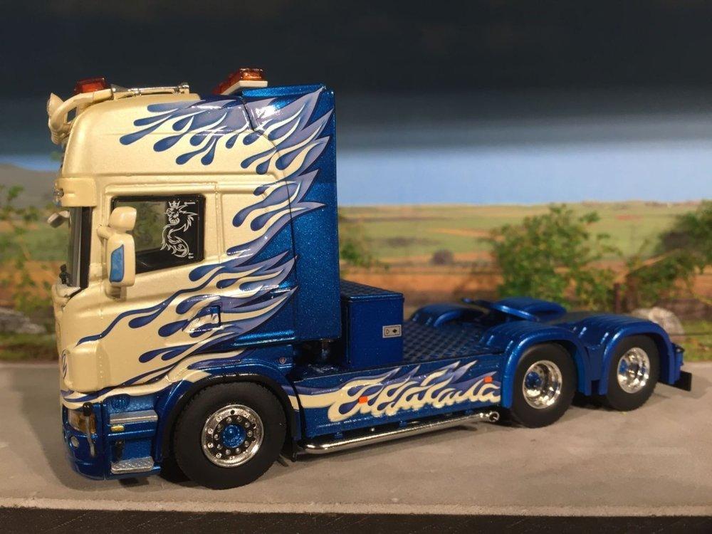 WSI WSI Scania R580 6x2 single truck Thurhagens Sweden