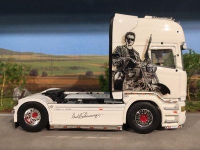 Tekno Tekno Scania R-streamline 4x2 single truck Obruly Arnold Schwarzenegger