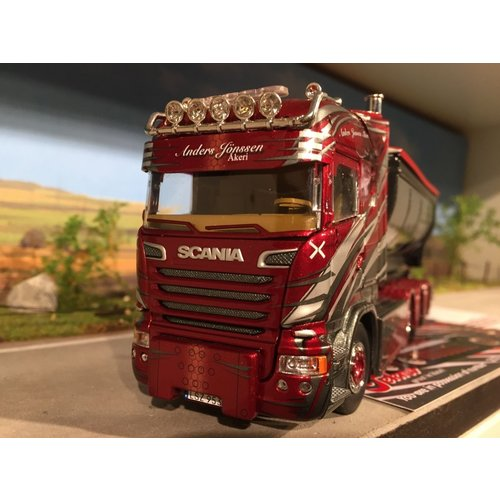 Tekno Tekno Scania streamline highline with container Anders Jonsson Sweden