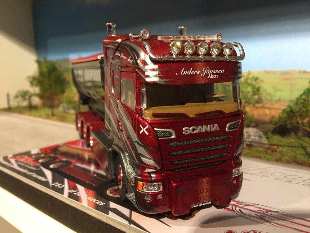 Tekno Tekno Scania streamline highline met afzetbak Anders Jonsson Sweden
