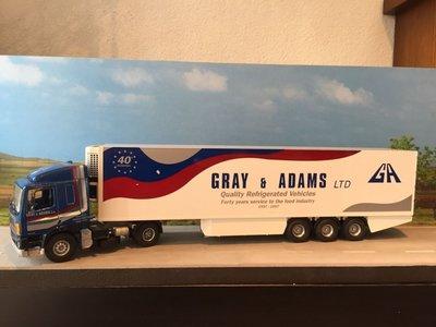 Tekno Tekno Leyland / DAF85 met koeloplegger Gray & Adams Ltd.