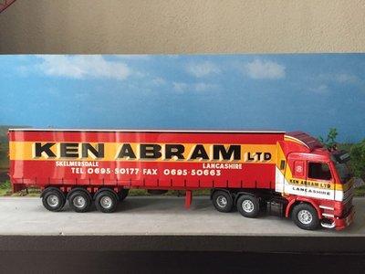 Tekno Tekno Scania 113M/360 met gesloten oplegger Ken Abram