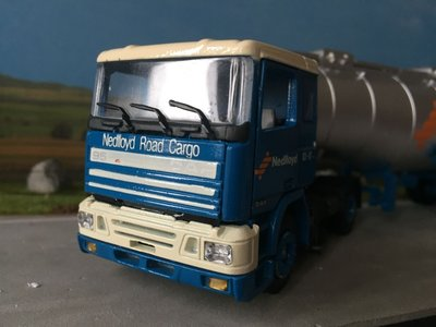 Tekno Tekno DAF 95 with tank trailer Nedlloyd / Road cargo