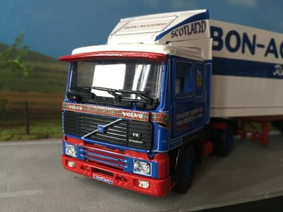 Tekno Tekno Volvo F12 with refrigerated trailer Bon-Accord Scotland