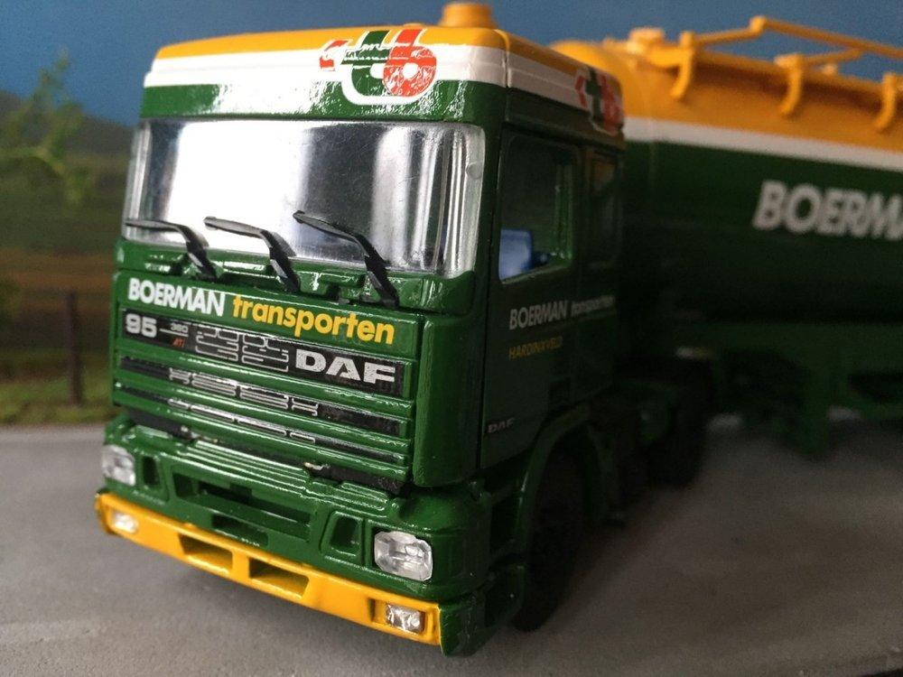 Tekno Tekno DAF 95 met bulktankoplegger Boerman
