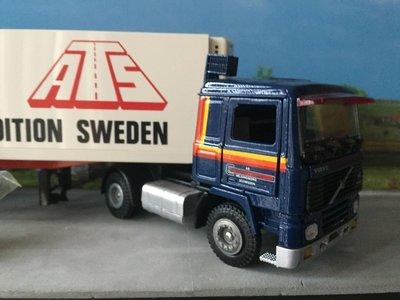 Tekno Tekno Volvo F12 met koeloplegger Europa Frakt / ATS Sweden