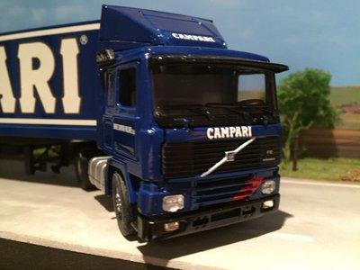 Tekno Tekno Volvo F12 met gesloten oplegger Campari