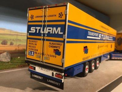 Tekno Tekno Scania R500 met koeloplegger Sturm