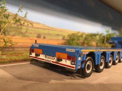 WSI WSI Scania R 6x2 met nooteboom MCO PX-5axle Felbermayr Oostenrijk