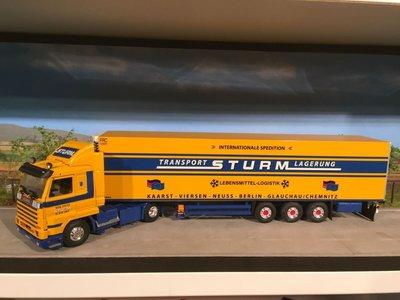 Tekno Tekno Scania 113M - 380 streamliner met koeloplegger Sturm
