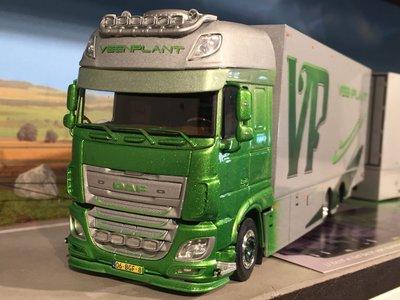 Tekno Tekno DAF 106XF truck trailer live stocknplant
