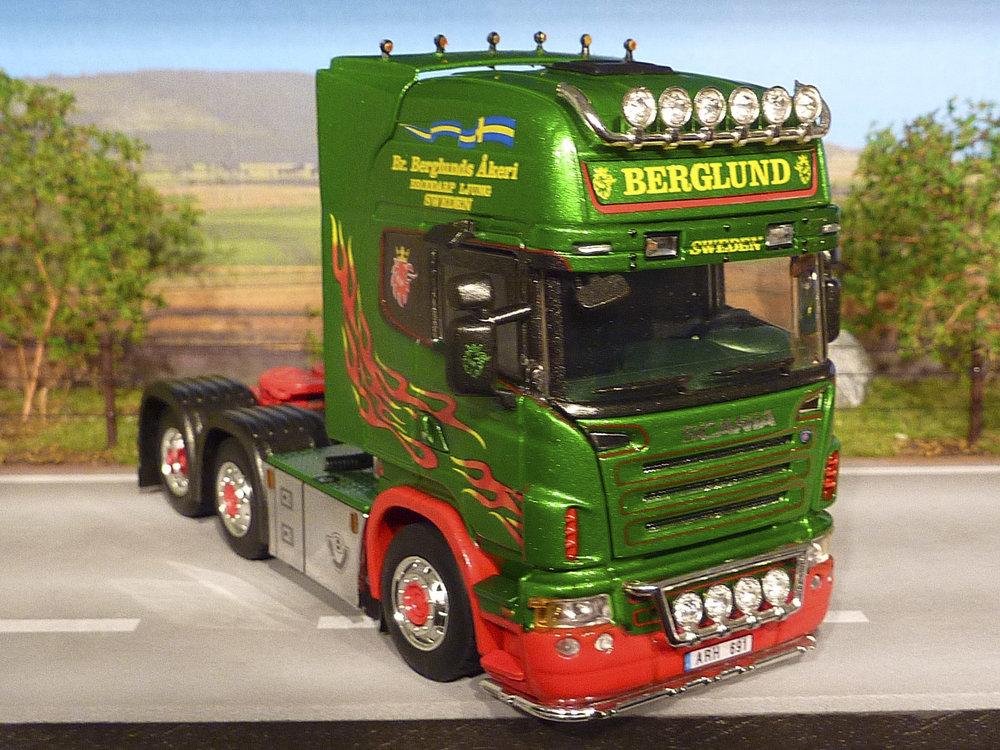 WSI WSI Scania R topline 6x2 single truck Berglunds Sweden