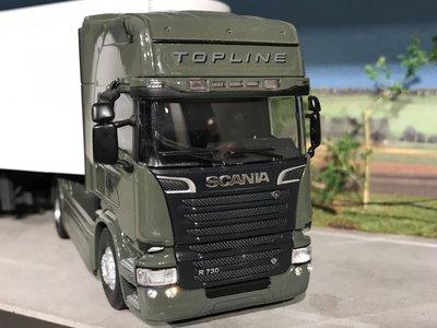 Tekno Tekno Scania R730 Topline met koeloplegger Basis model