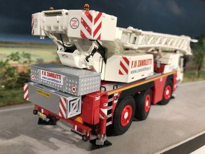 WSI WSI Liebherr LTM 1050-3.1 kraanwagen Zanoletti Italy