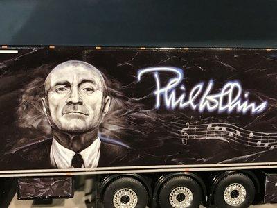 "Tekno Tekno Losse gesloten oplegger Fleischmann ""Phil Collins"""