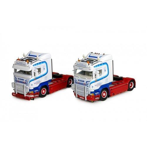 Tekno Tekno set from 2 x Scania streamline 4x2 single trucks Bastiaansen België