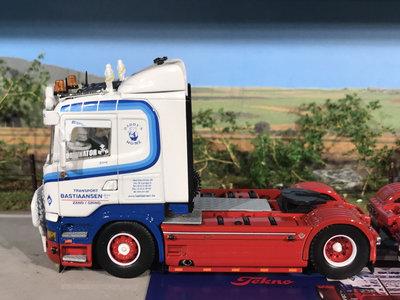 Tekno Tekno set van 2 x Scania streamline 4x2 single trucks Bastiaansen België