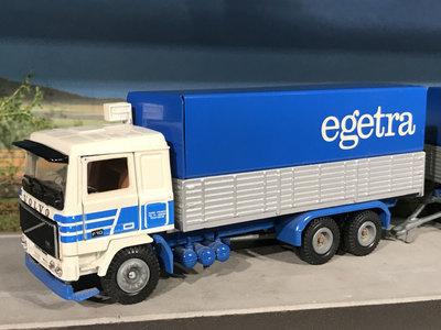 Tekno Tekno Volvo F10 bakwagen combi Egetra France