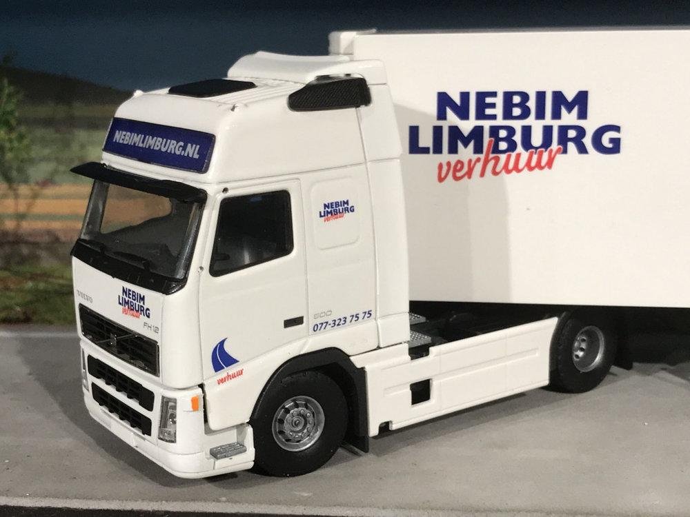 Tekno Tekno Volvo FH12 globetrotter met koeloplegger Nebim Limburg