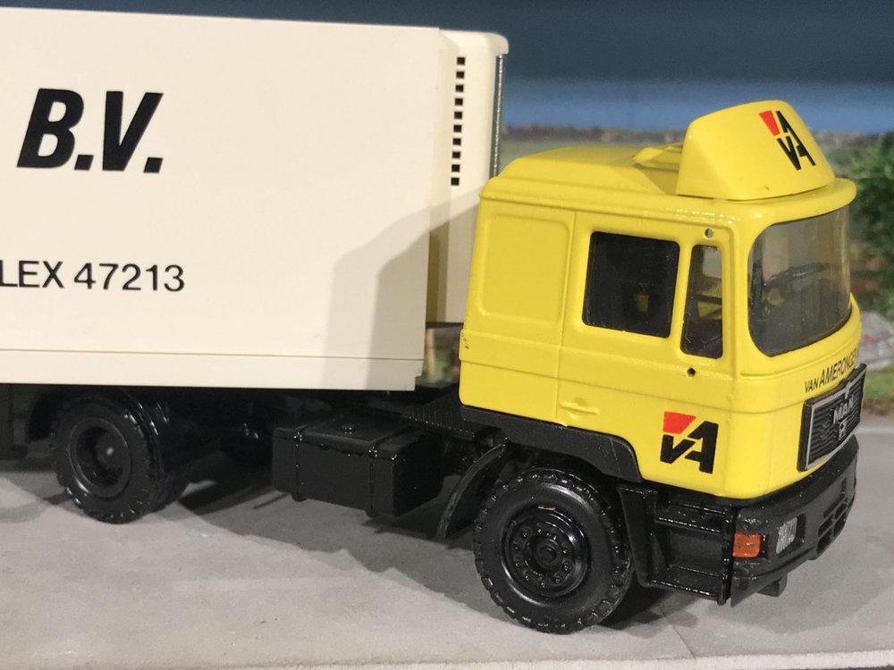 Conrad Modelle Tekno/ Conrad MAN met koeloplegger van Amerongen Barneveld