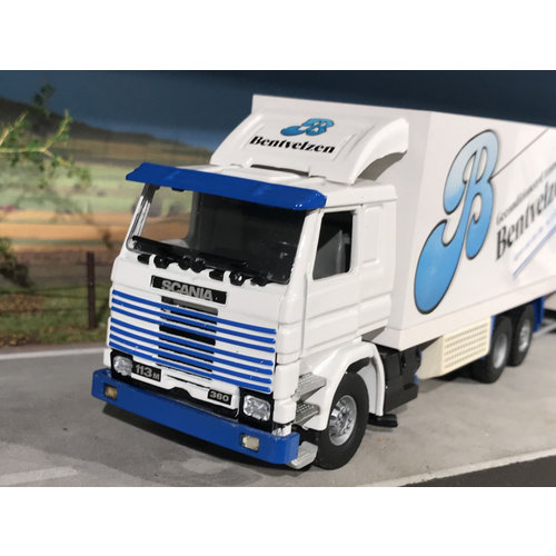 Tekno Tekno Scania 113M / 360 box truck combi Bentvelzen