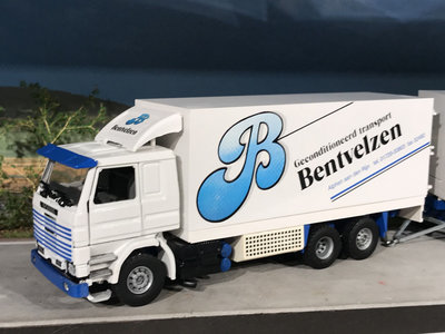 Tekno Tekno Scania 113M / 360 bakwagen combi Bentvelzen