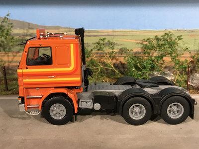 Tekno Tekno T.B.P. Scania 142M 6x2 RHD single truck