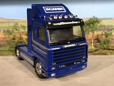 Tekno Tekno T.B.P. Scania R3 streamline Topline RHD single truck