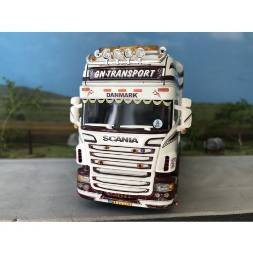 WSI WSI Scania R6 Topline 6x2 single truck GN Transport Denmark