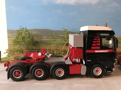 Mammoet store WSI MAN TGX + Boom transporter Mammoet