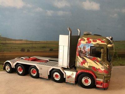 WSI WSI Scania Highline 8x4 single truck Midtstol Norway