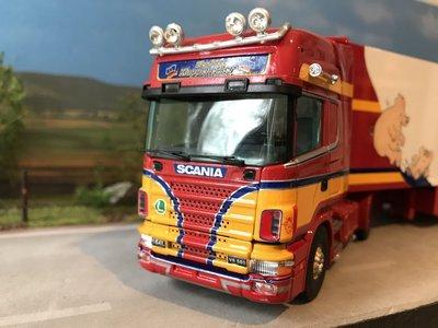 Tekno Tekno Scania 164L/580 met koeloplegger Klappenecker