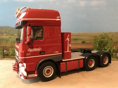 WSI WSI DAF 106XF SSC 6x2 single truck Nooteboom