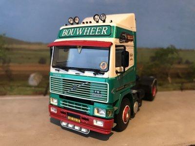 WSI WSI Volvo F16 Globetrotter single truck Bouwheer