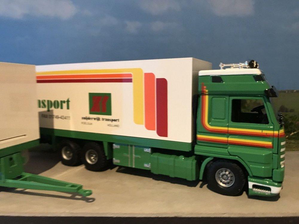 Tekno Tekno Scania 113M/380 streamliner bakwagen combi Zuijderwijk Poeldijk
