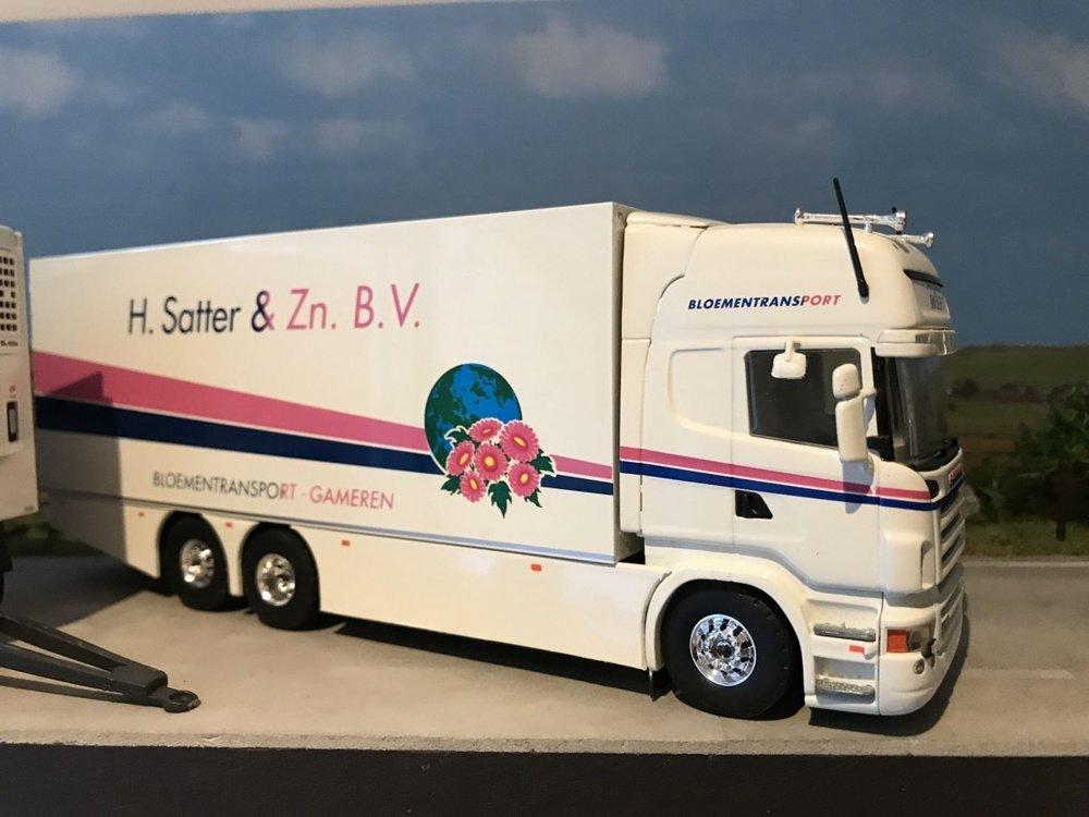 Tekno Tekno Scania R500 Topline LZV combinatie Satter