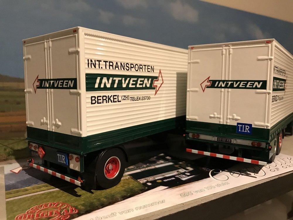 Tekno Tekno Scania 141 Super Super bakwagen combi Int Veen