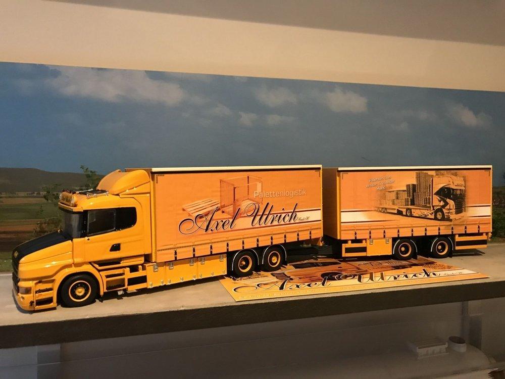 Tekno Tekno Scania Torpedo schuifzeilen combi Lupal-Axel Ulrich